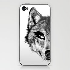 The Wolf Next Door iPhone & iPod Skin
