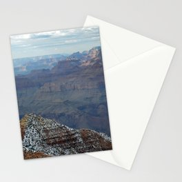 Grand Canyon in Winter Stationery Cards