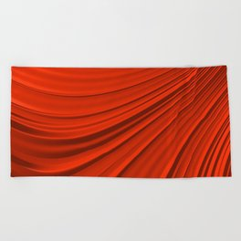 Renaissance Red Beach Towel