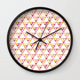 triangles #4 Wall Clock