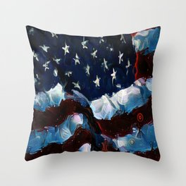 Come On People Now Throw Pillow