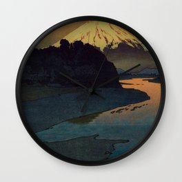 Sunset at Aga Wall Clock
