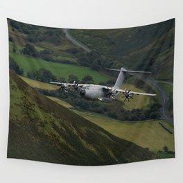 Airbus A400M At Mach Loop Wall Tapestry