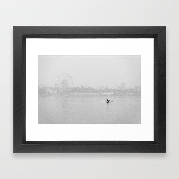 La Neblina Framed Art Print