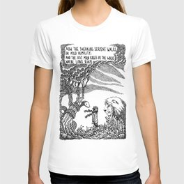 William Blake Illustration T-shirt