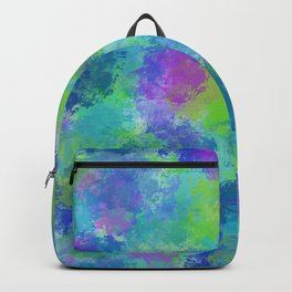 Hydrangeas Abstract Backpack