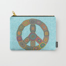 Peace is Groovy Carry-All Pouch