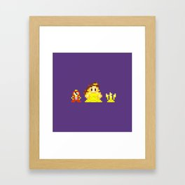 Belle & Friends Framed Art Print
