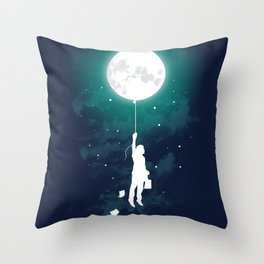Burn the midnight oil Throw Pillow