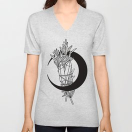 cryslas rosemary and moon magic Unisex V-Neck