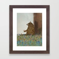 Afternoon Song Framed Art Print