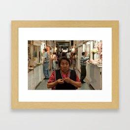 Las Penas Framed Art Print