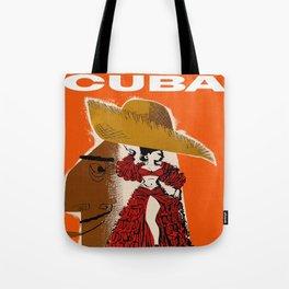 Vintage Travel Ad Cuba Tote Bag