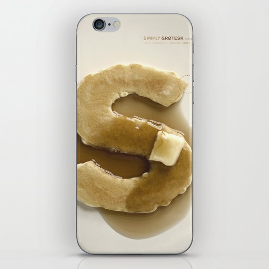 Simply Grotesk iPhone & iPod Skin