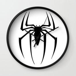 black spidey sense Wall Clock