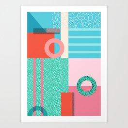 Lido Art Print