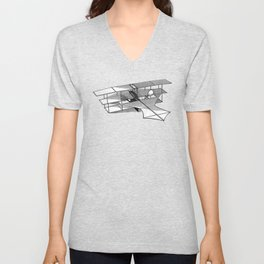 Aeroplane Unisex V-Neck