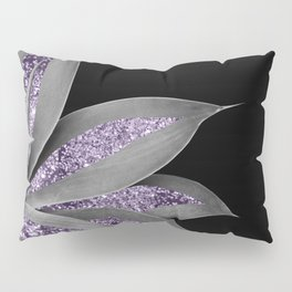 Agave Finesse Glitter Glam #3 #tropical #decor #art #society6 Pillow Sham