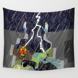 The Final Confrontation Wall Tapestry