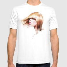 hairdress MEDIUM Mens Fitted Tee White