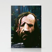 the hound Stationery Cards featuring THE HOUND by Chewgowski