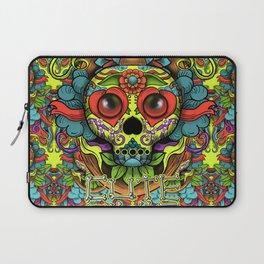 Cute Skull Dia de Los Muertos Laptop Sleeve