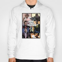 grand theft auto Hoodies featuring Grand Theft Baltimore - The Wire meets Grand Theft Auto by rydrew