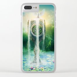 Ace of Cups Clear iPhone Case