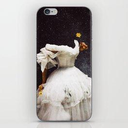Flowergazer iPhone Skin