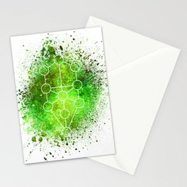 Tree Of Life Gaia Sacred Gemoetry Stationery Cards