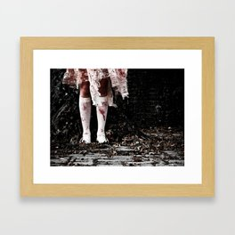 The Only One Left Framed Art Print