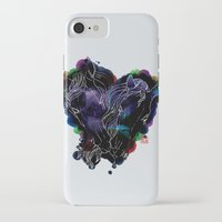 lovers iPhone & iPod Cases featuring LOVERS by i am gao