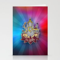 ganesh Stationery Cards featuring Ganesh by Street But Elegant