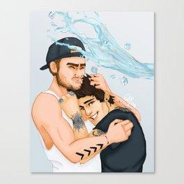 Ice Bucket Challenge Ziam Canvas Print