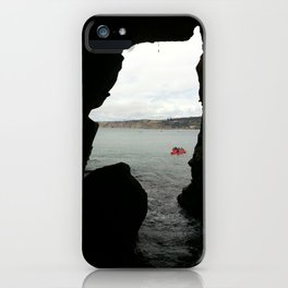 Sea Cave iPhone Case