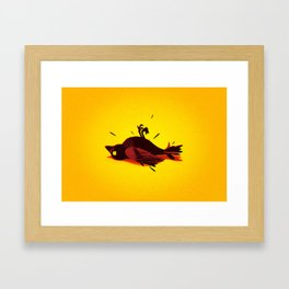 My bird Framed Art Print