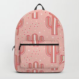 Candy Cane Cactus Backpack