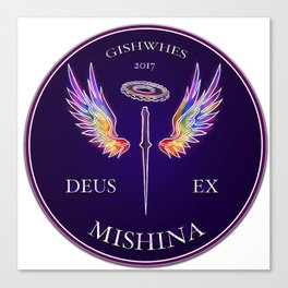 Deus Ex Mishina Canvas Print