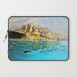 view of Kauai, HI Laptop Sleeve