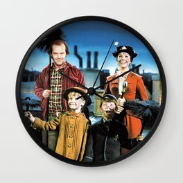 Jack Torrance in Mary Poppins Wall Clock
