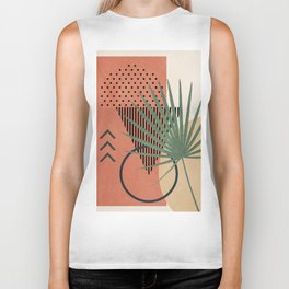 Nature Geometry II Biker Tank