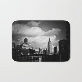 NYC Skyline 2012 (film grain) Bath Mat