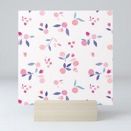 Blushing Roses Mini Art Print