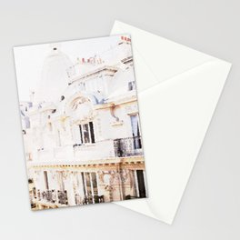 Paris Rooftops Watercolor Stationery Cards