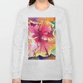 Tropical Hibiscus 13 Long Sleeve T-shirt