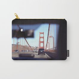 From the Backseat, Driving Across the Golden Gate Carry-All Pouch