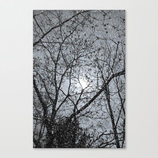 Oh Snowy Night Canvas Print