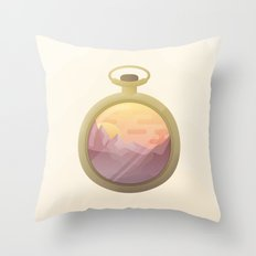 From Dusk to Dust Throw Pillow