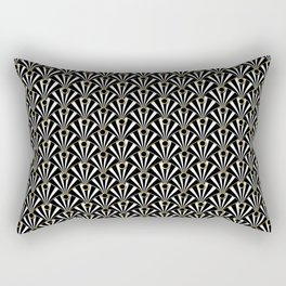 Art Deco Rectangular Pillow