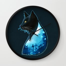 Guardians of the Night Wall Clock